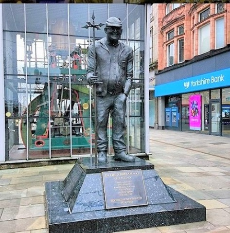 Fred Dibnah, the famous steeplejack, hails from Bolton