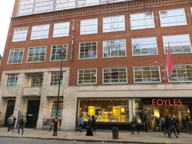 Foyles Charing Cross Road - 05.01.19 (2)