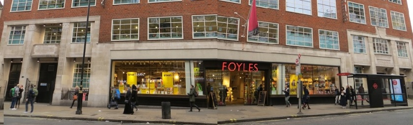 Foyles Charing Cross Road - 05.01.19 (2b)