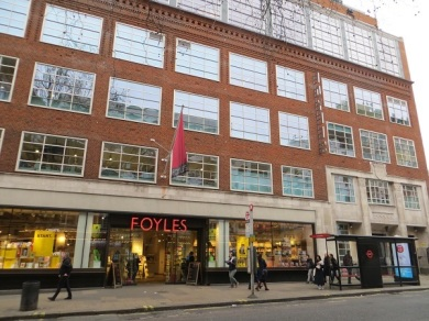 Foyles Charing Cross Road - 05.01.19 (3)