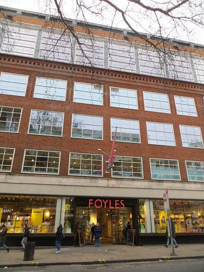 Foyles Charing Cross Road - 05.01.19 (5)