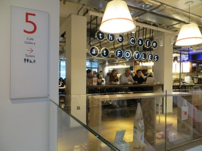 Foyles Charing Cross Road - 05.01.19 Floor 5 (1)