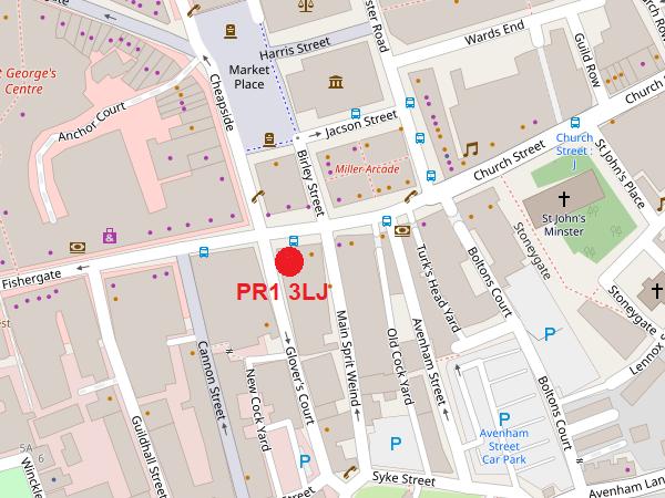 Preston map