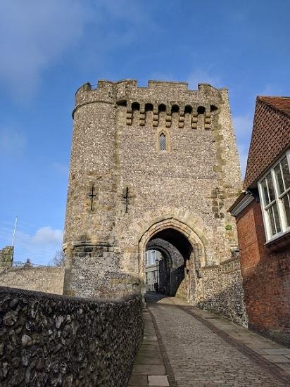 Lewes Castle 29.12.19 (2)