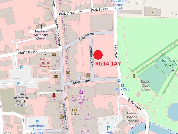 Newbury map